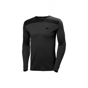 Helly Hansen Merino Midleyer Top Black M