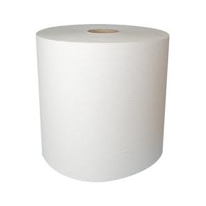 White paper towel roll 22x36, 2-ply, 900pcs
