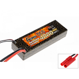 Gens Ace 4000mAh 7.4V 30C 2S1P Hard case Lipo Battery  PackGens