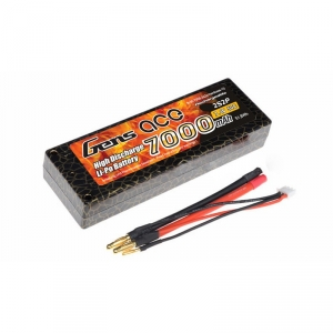 Gens Ace 7000mAh 7.4V 50C 2S1P Hard Case Lipo Battery