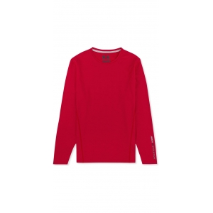 Musto Evolution Sunblock Long Sleeve T-Shirt RED M