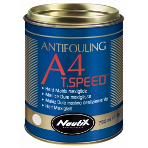 A4 T. Speed Hard antifouling for fast power boats & racing sailing boats