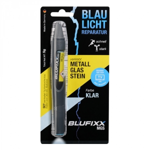 BLUFIXX CLEAR for Metal Glass Stone